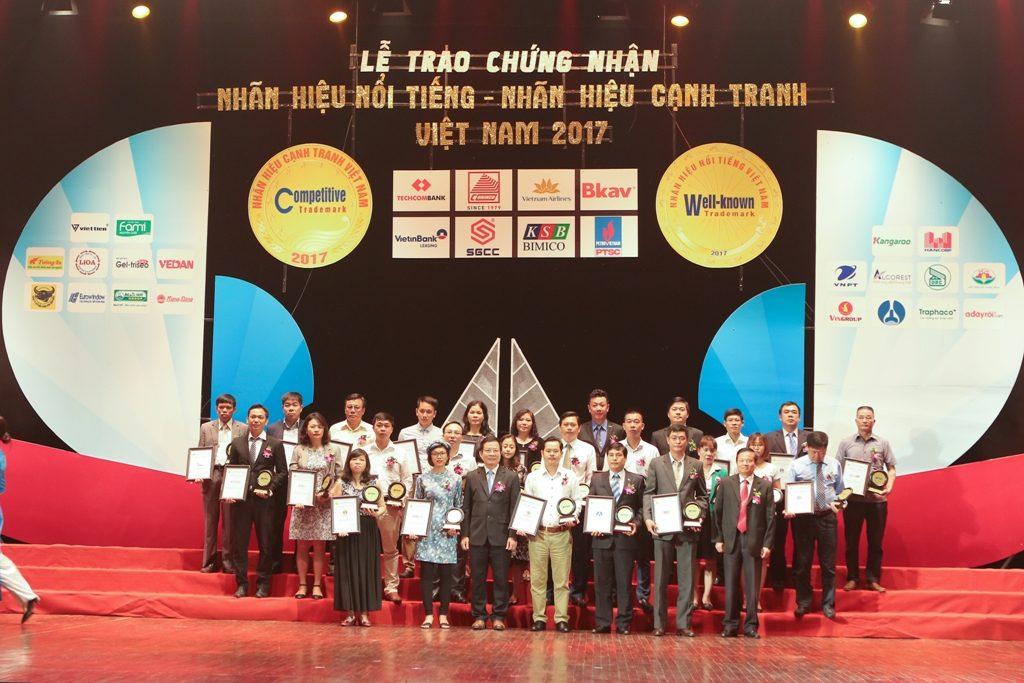 Award: Top 50 Vietnam's Most Famous Brands 2017