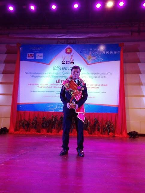 Bổ thận nữ nhận Thương hiệu nổi tiếng Asean 2013