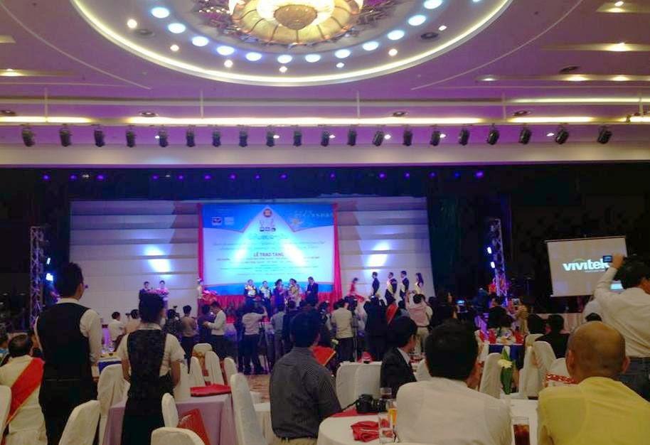 Giải thưởng: Thương hiệu nổi tiếng Asean 2013