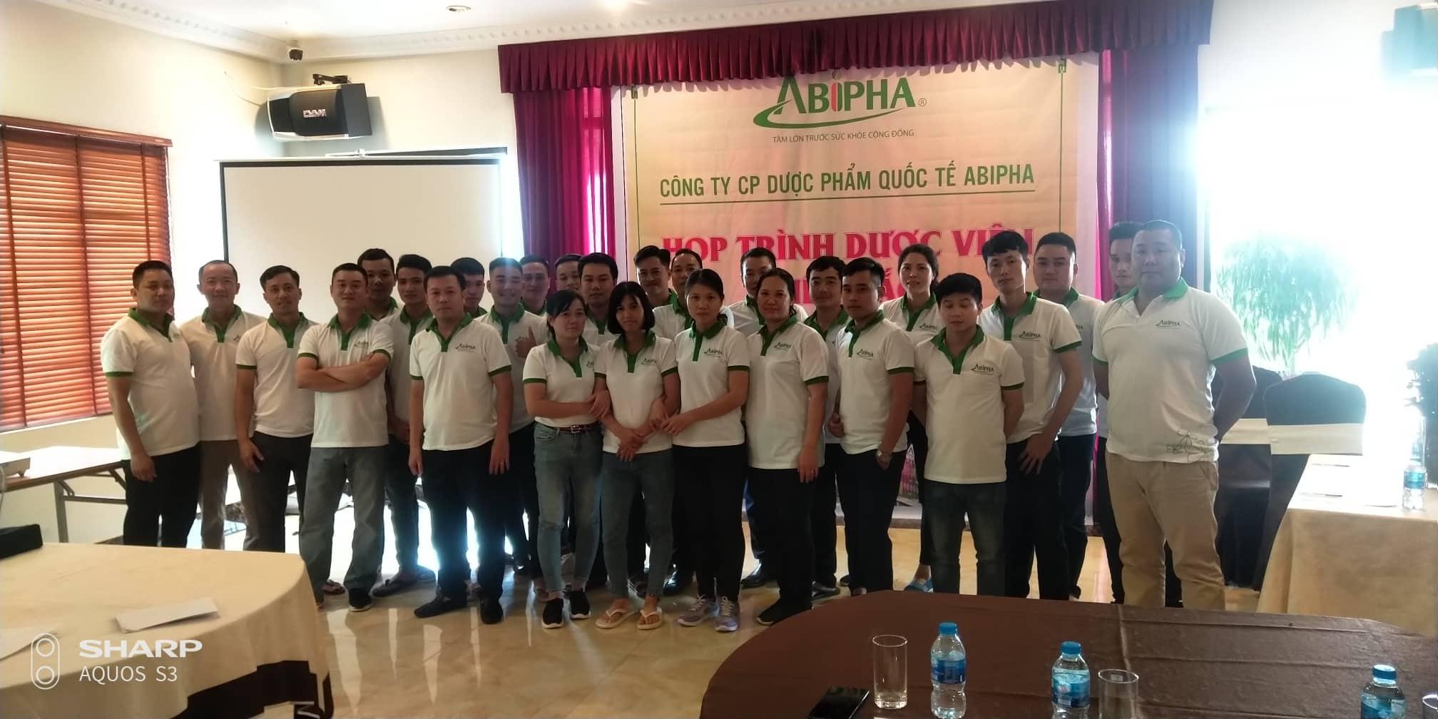 Abipha họp trình dược viên 2019 tại Hạ Long – Quảng Ninh