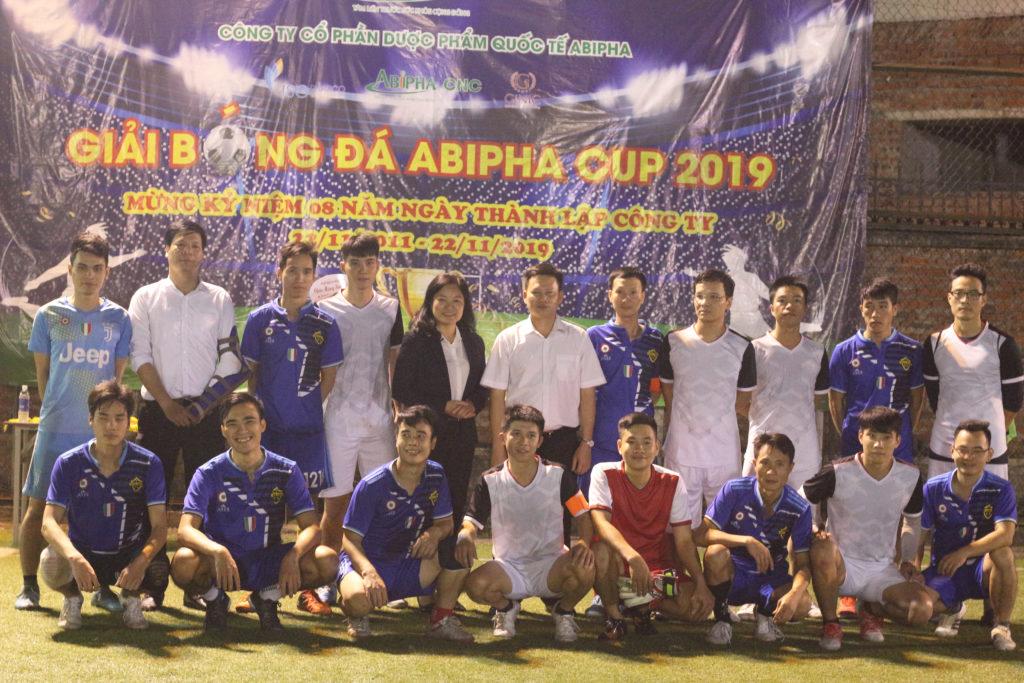 Bế mạc Giải bóng đá Abipha Cup 2019