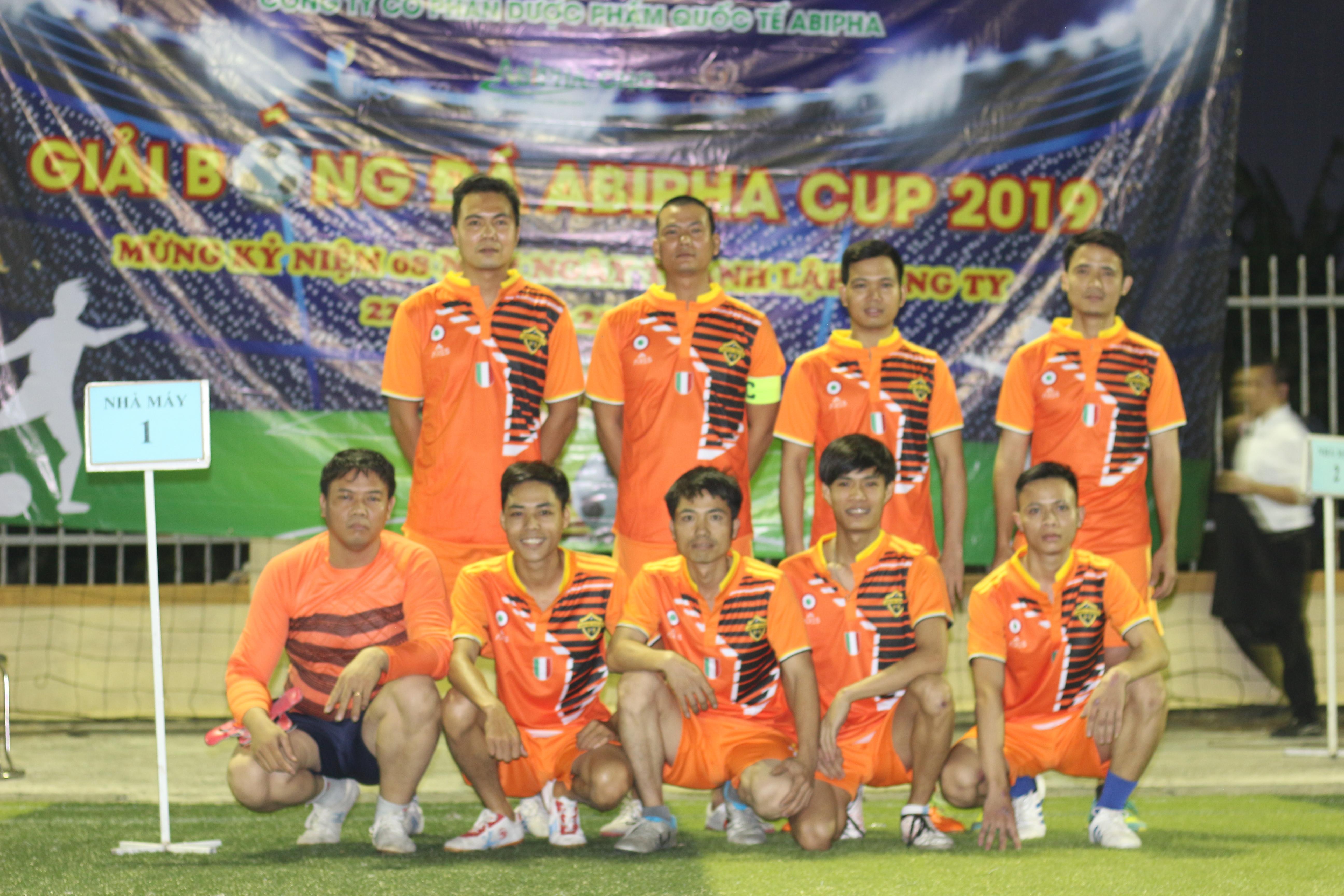 Khai mạc giải bóng đá Abipha Cup 2019 cực kỳ sôi động