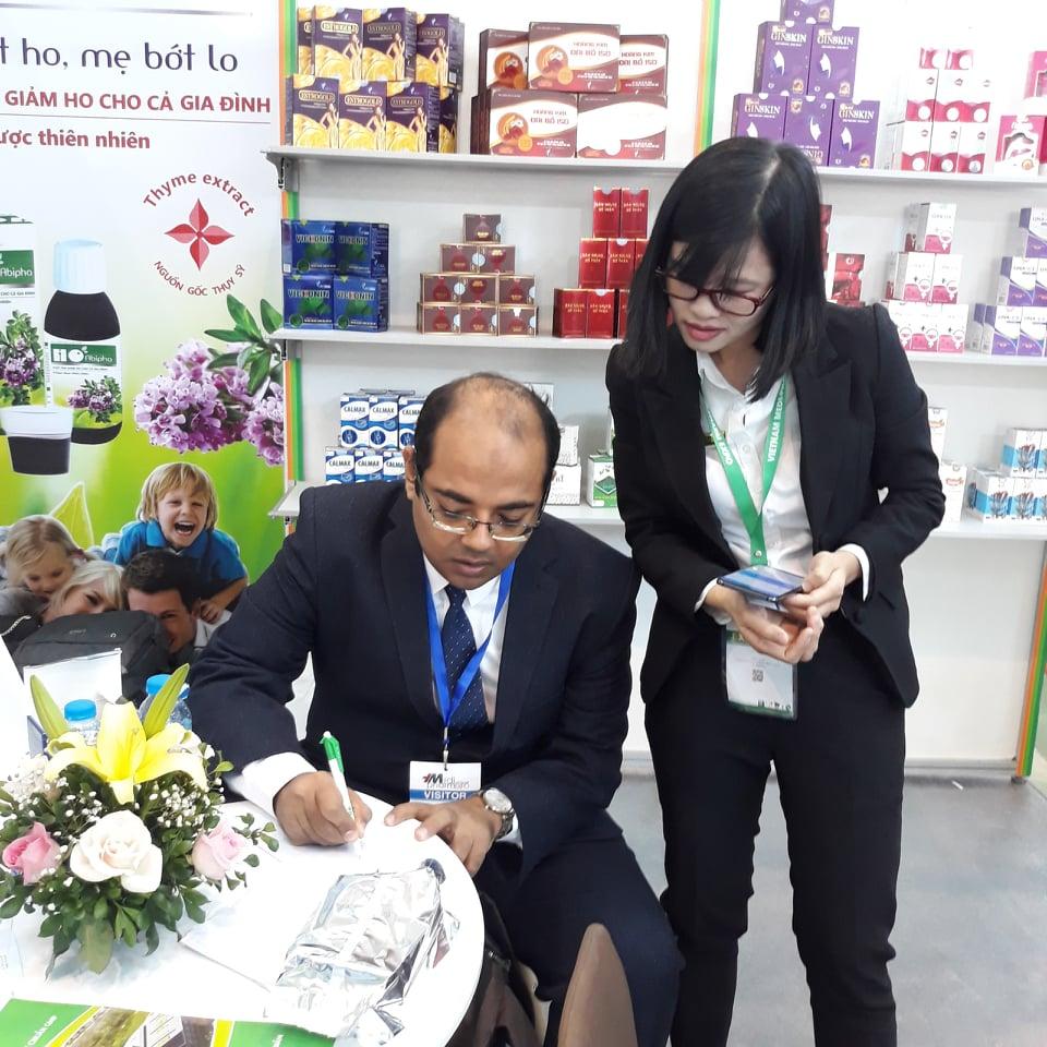 Aipha tham gia hội trợ triển lãm y dược lần 26 tại Hà Nội