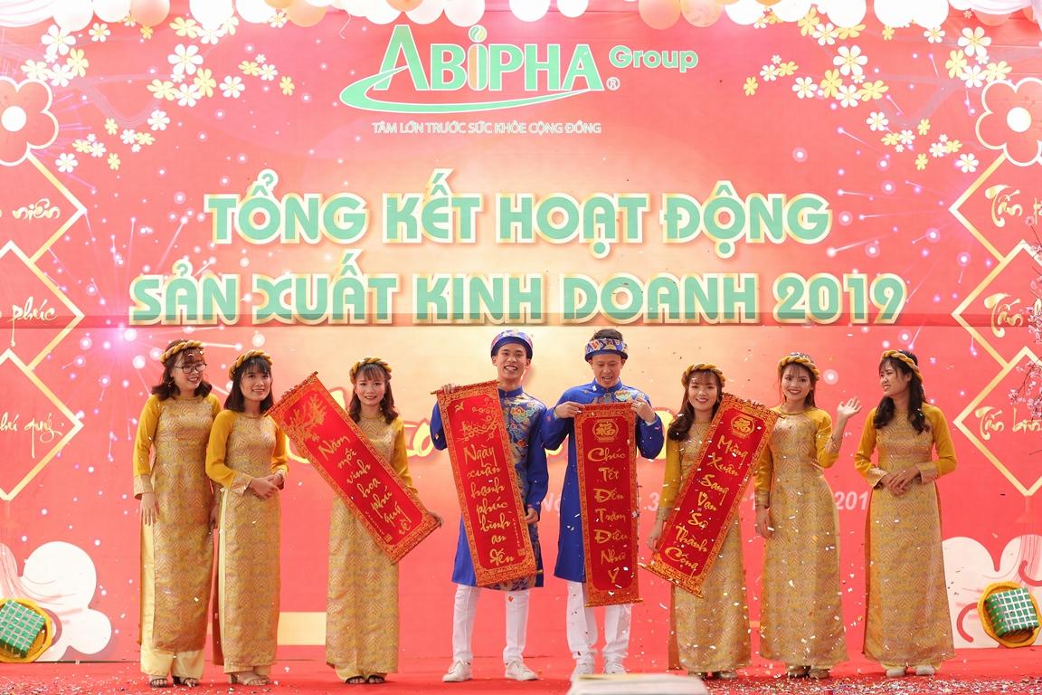 ABIPHA GROUP long trọng tổ chức lễ tổng kết hoạt động kinh doanh năm 2019, chào xuân 2020